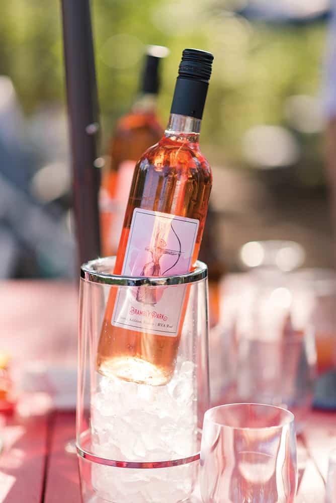 Wine from Brambly Park Winery