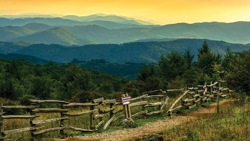 Abingdon, Virginia mountains Image