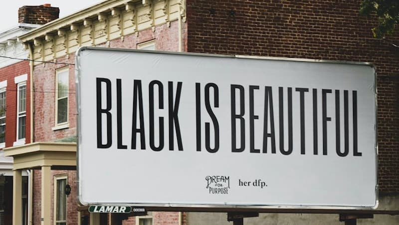 Black Is Beautiful billboard Image