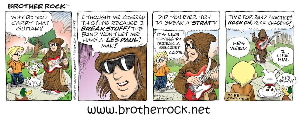 Brother Rock comic