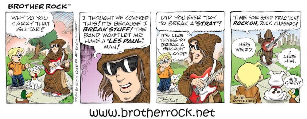 Brother Rock comic