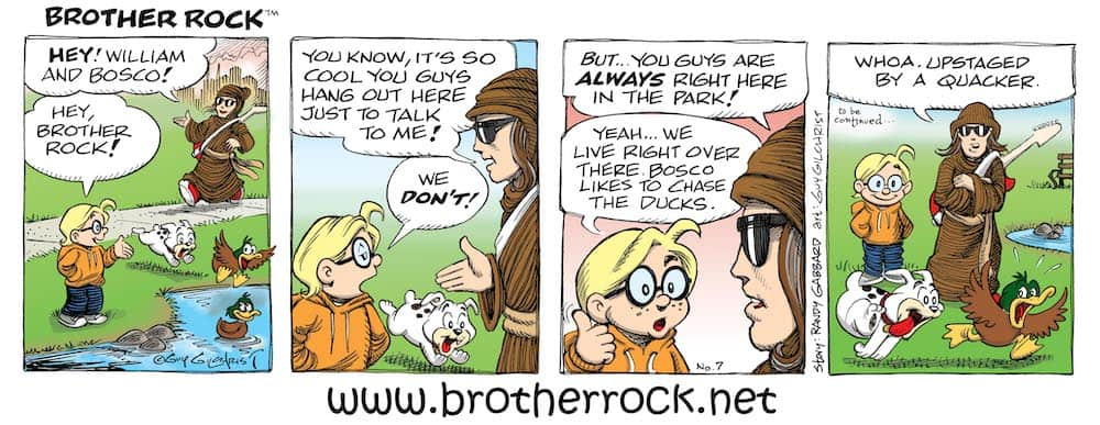 Brother Rock comic 7