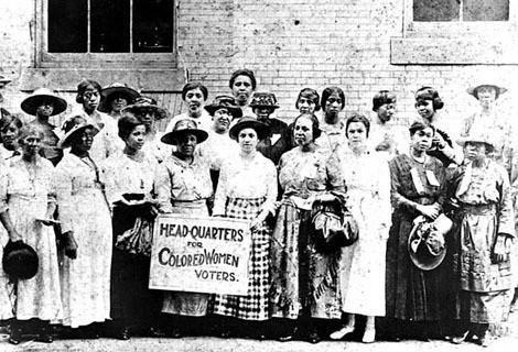 Black women activists: women's suffrage progress and shortcomings