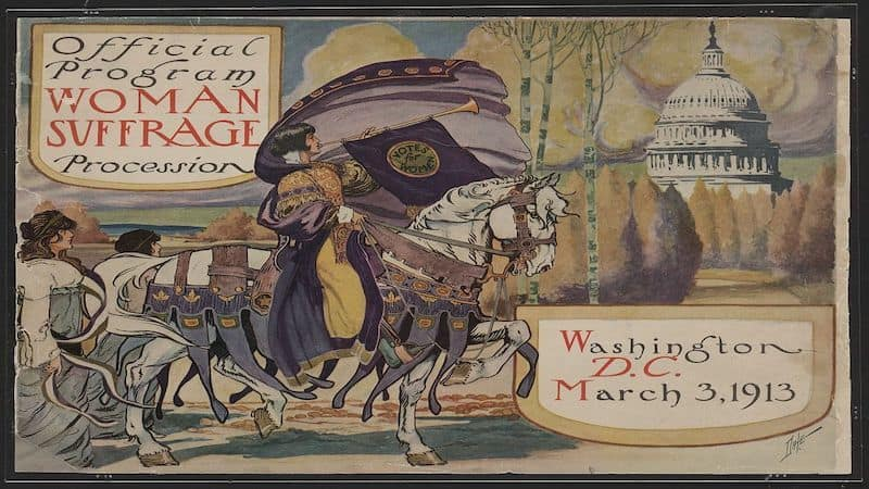 Women's suffrage progress and pitfalls Image