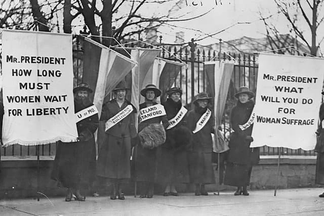 suffrage exhibits and events