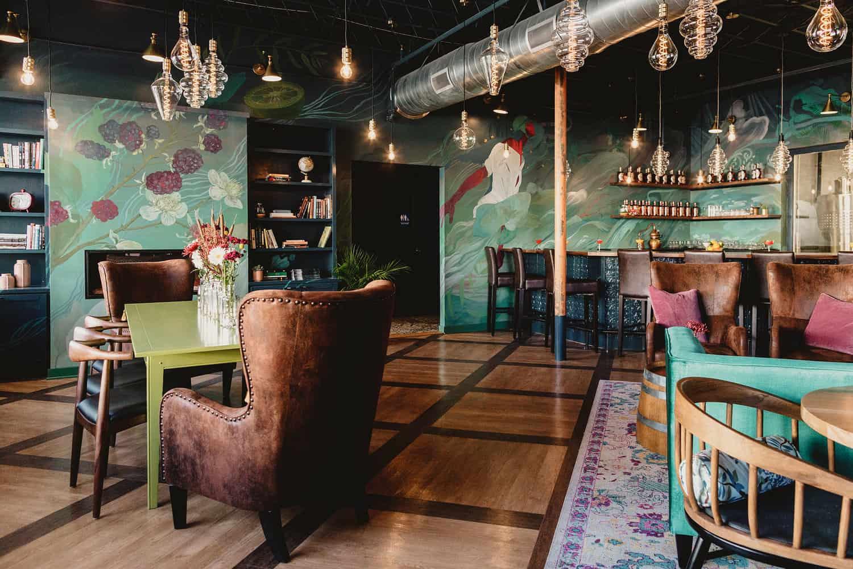 Virago Spirits tasting room