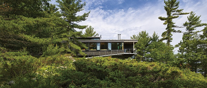 Go Home Bay exterior - escape to nature home, surrounded by nature