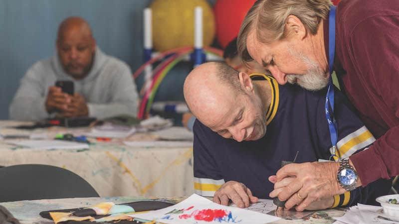 Volunteer Gordon Russell is Giving Back at Soar365 Image