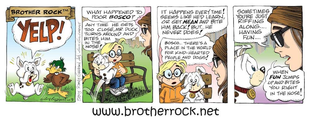Brother Rock Comic #9