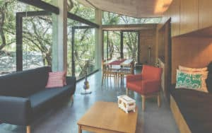 Escape-to-nature homes, Casa en El Bosque living area Image