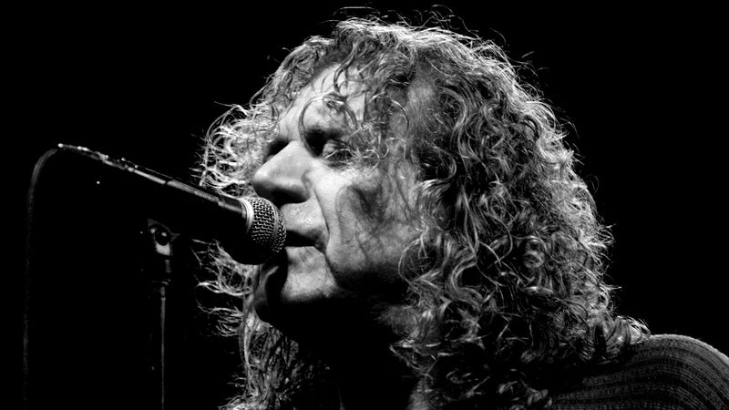 Robert Plant from Led Zeppelin at the Firehouse Theatre Image