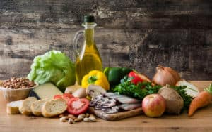 Eat a Mediterranean diet to glow Image