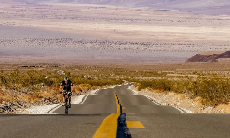Will Turner biking