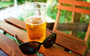 Wild & Weird beer is wearing sunglasses! Image