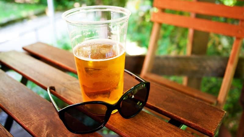 Wild & Weird beer is wearing sunglasses! Image