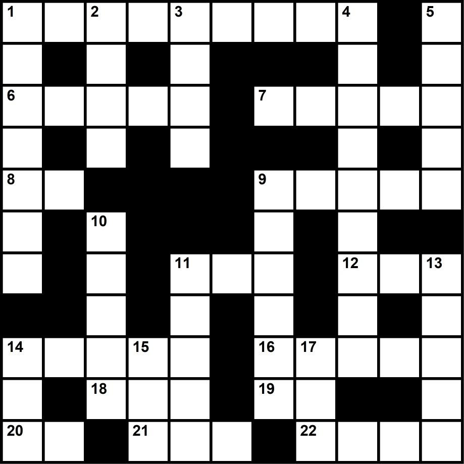 Music trivia crossword puzzle