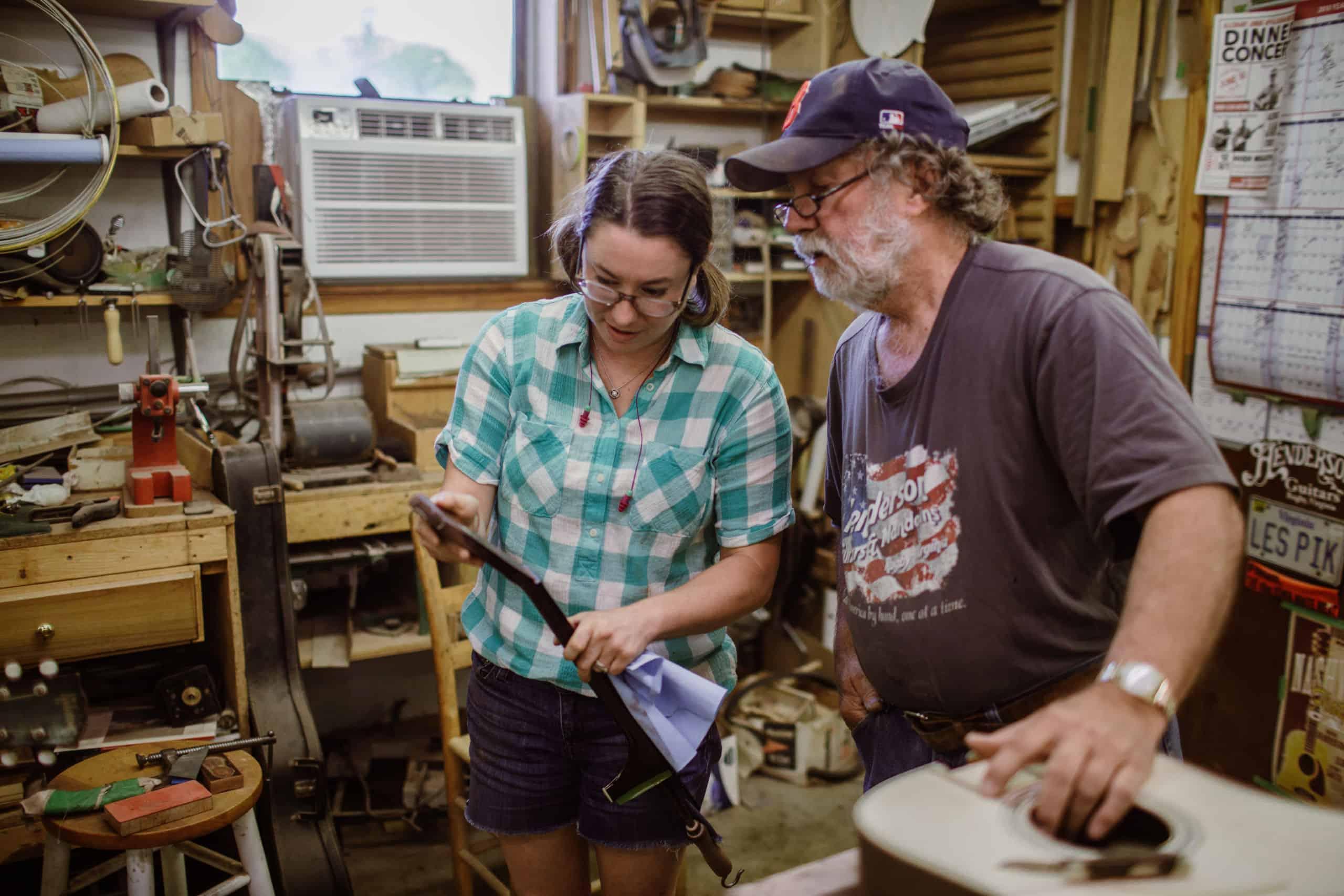Virginia luthier Wayne Henderson