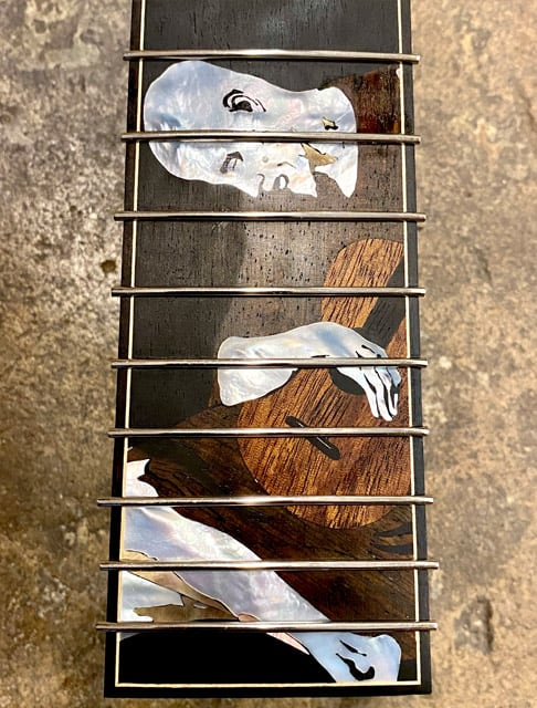 Rockbridge Guitar, Brian Calhoun, inlay