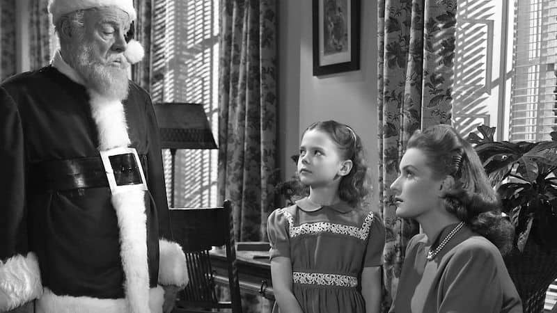 Memories of Actress Natalie Wood in Miracle on 34th Street Image