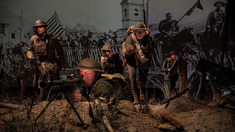 National Museum United States Army Meuse-Argonne Offensive scene