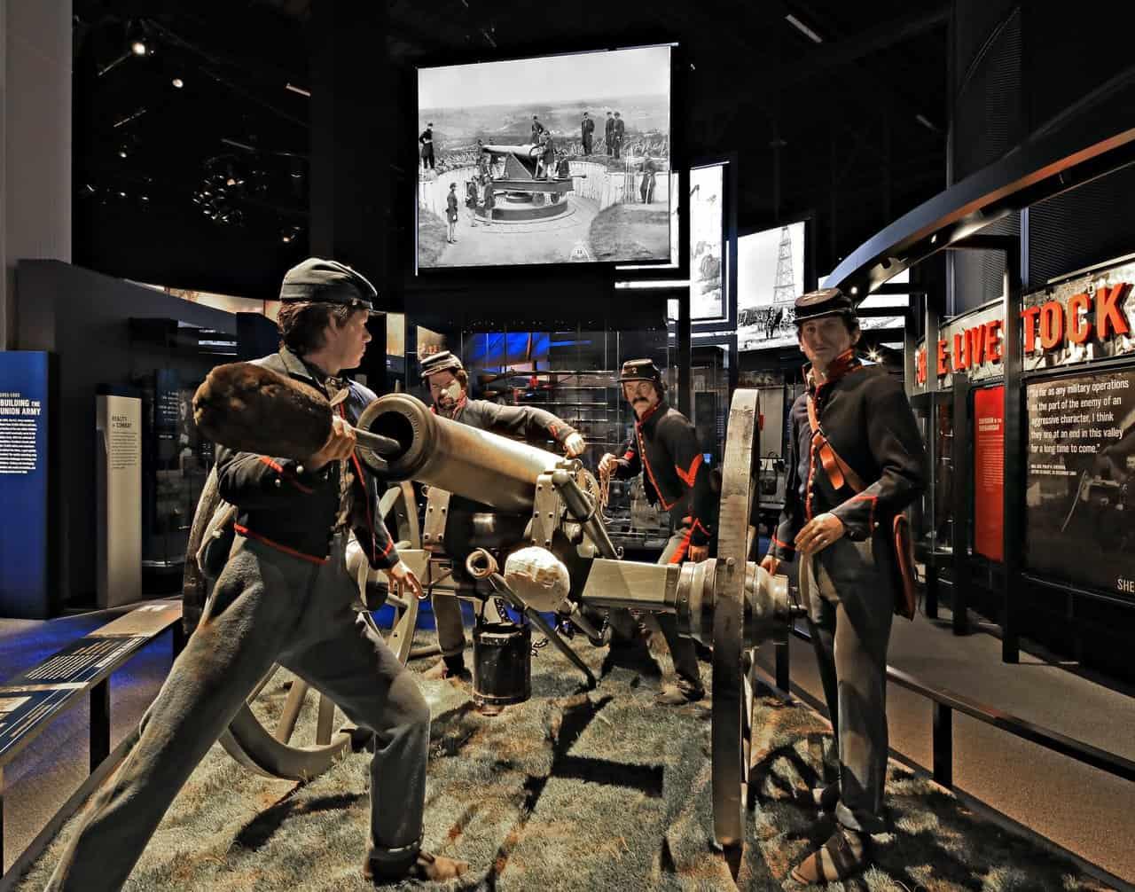 Civil War 12-Pounder Cannon