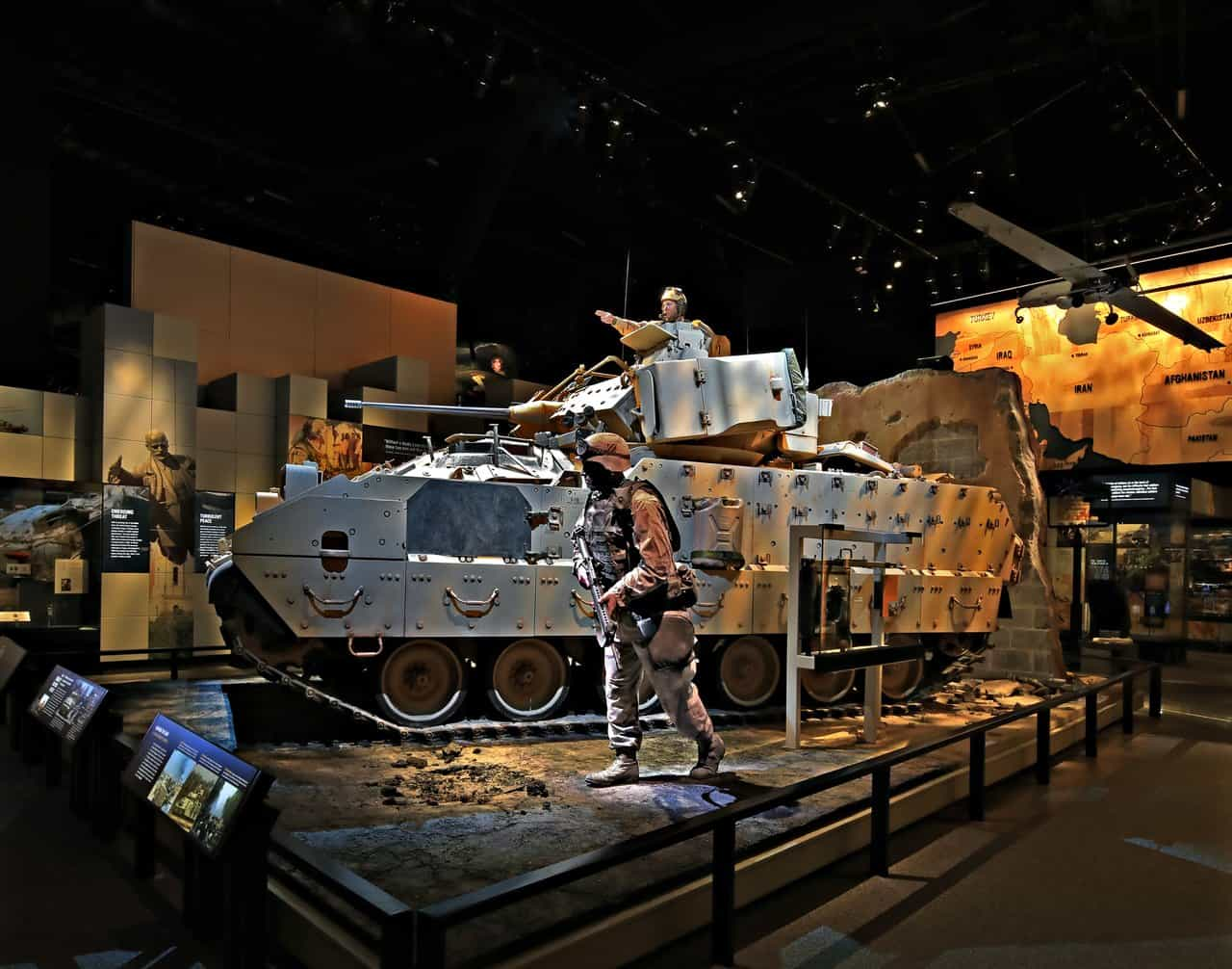 The M3 Bradley Fighting Vehicle