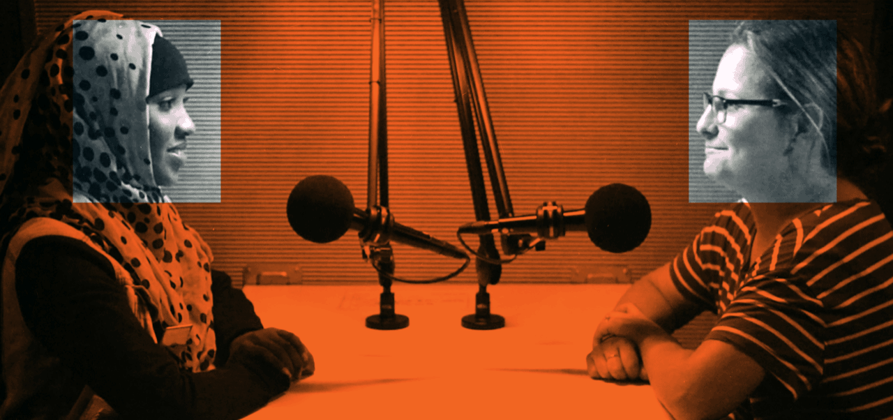 StoryCorps One Small Step conversation image