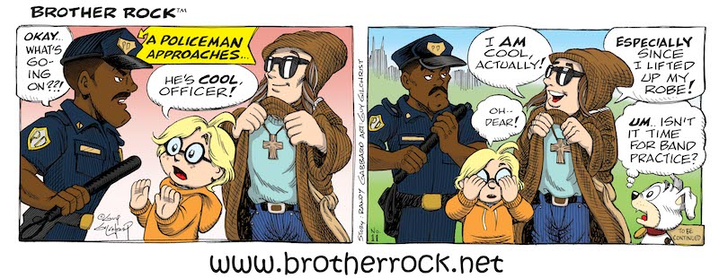 Brother Rock comic #11