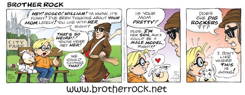 Brother Rock comic #12