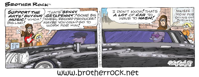 Brother Rock comic #14