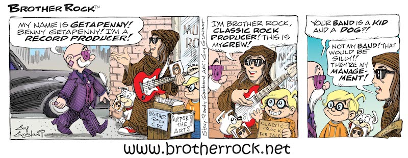 Brother Rock comic #14