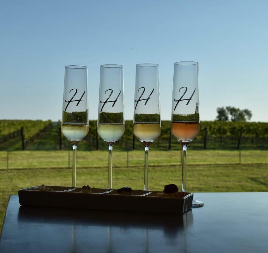Heath Sparkling Wines in Fredericksburg, Texas