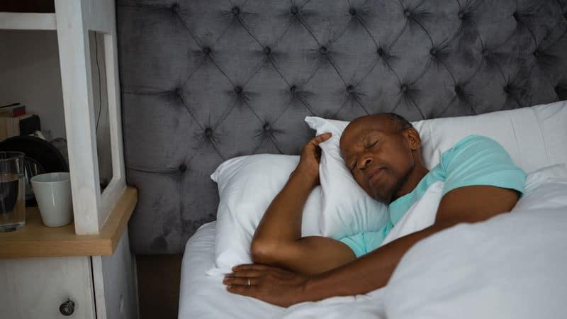 Good sleep heart health this man has Image