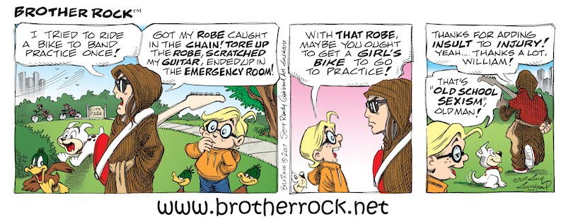 Brother Rock comic #19