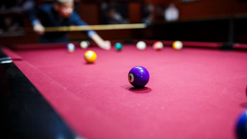 pool table and family memories Image