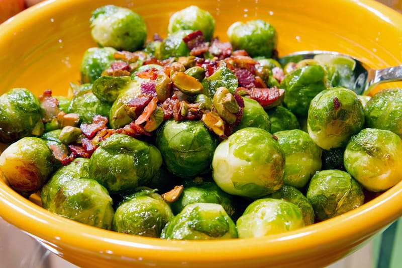 Brussels sprouts are one of the great Thanksgiving dishes