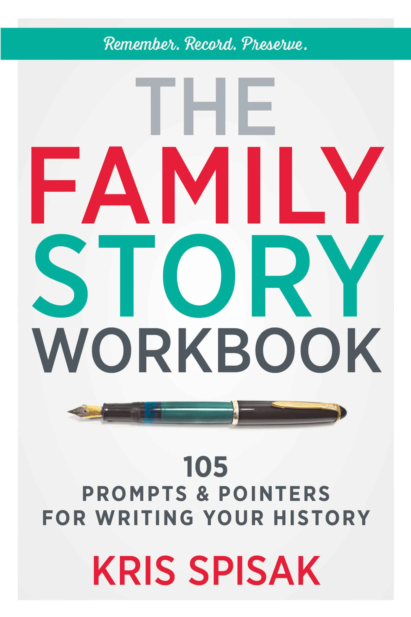 The Family Story Workbook front cover