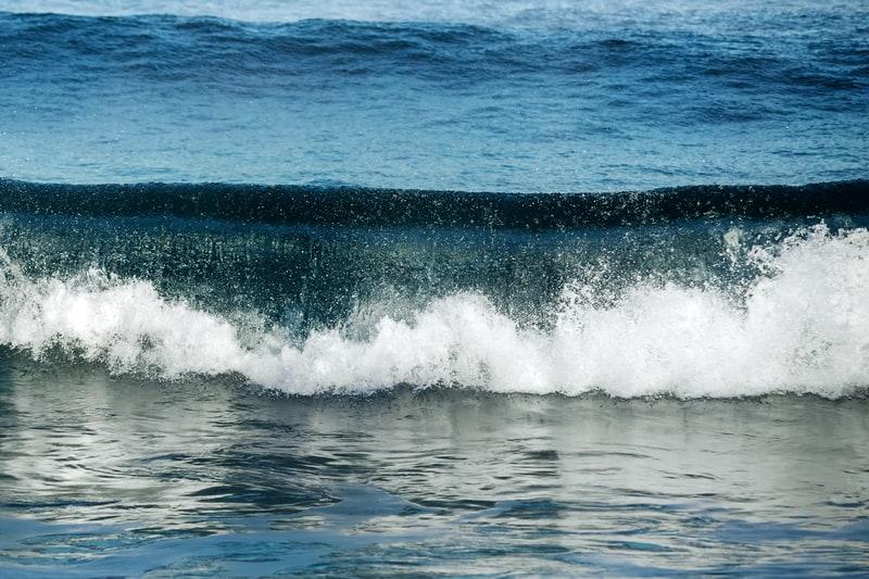 Wave at the seashore