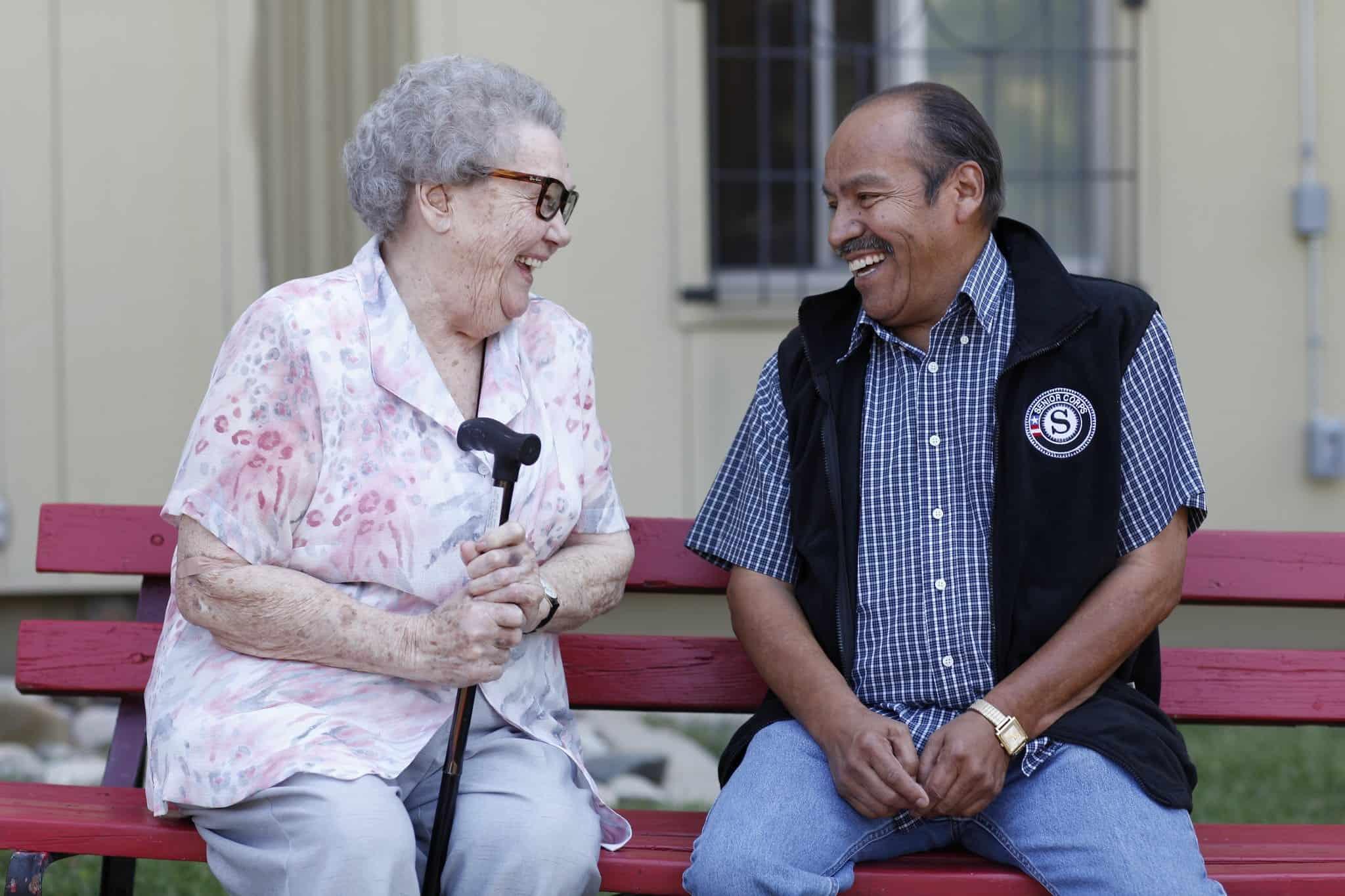 AmeriCorps Seniors Senior Companions volunteer