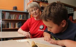 AmeriCorps Seniors volunteers foster grandparent Image