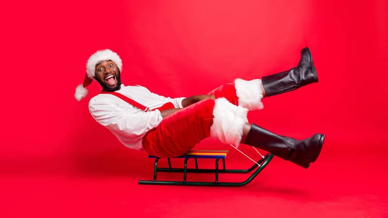 Soul Santa having a great time Image