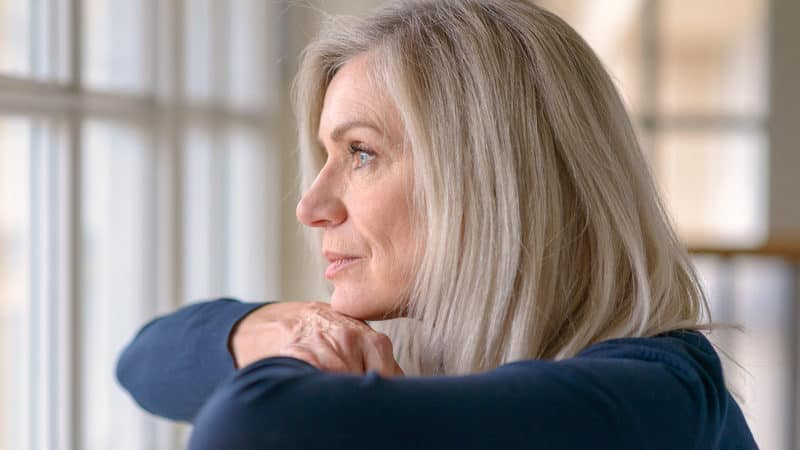 Middle aged woman still in a long-term engagement but doesn't want to be Image