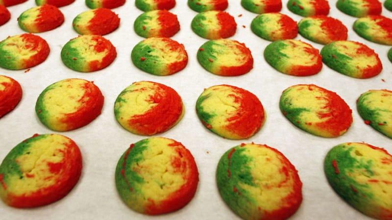 Ukrop's Rainbow cookies