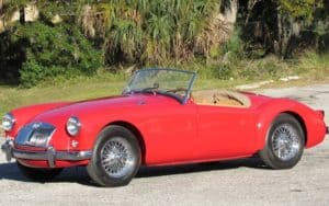 Stories of Collecting Classic Cars: An MGA sports car Image