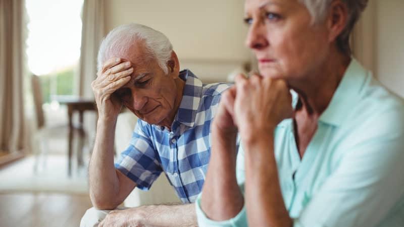 Estranged family is upset Image