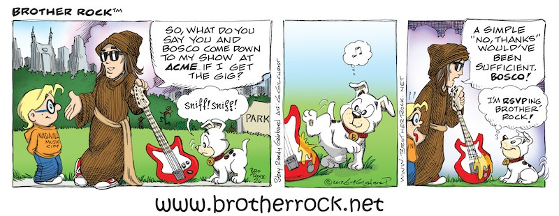 Brother Rock Comic #26 RSVP