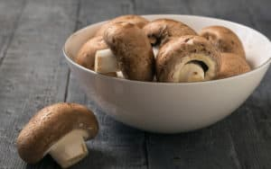 mushrooms as a health food, bowl of mushrooms Image