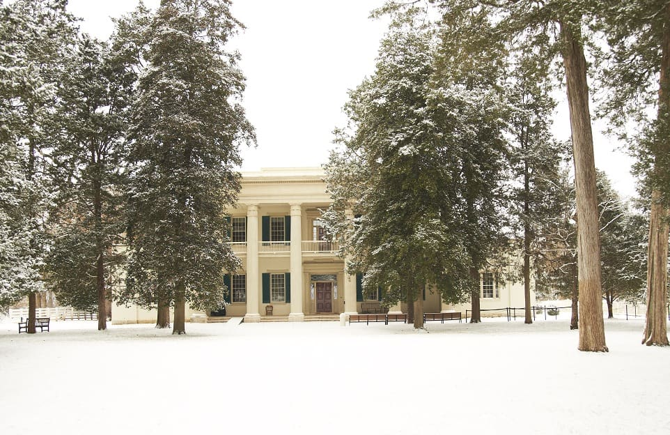 Andrew-Jackson's-Hermitage-Mansion_Winter_PhotoCredit-Andrew-Jackson-Foundation