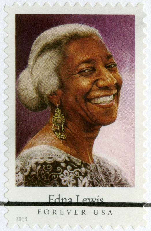Chef Edna Lewis stamp