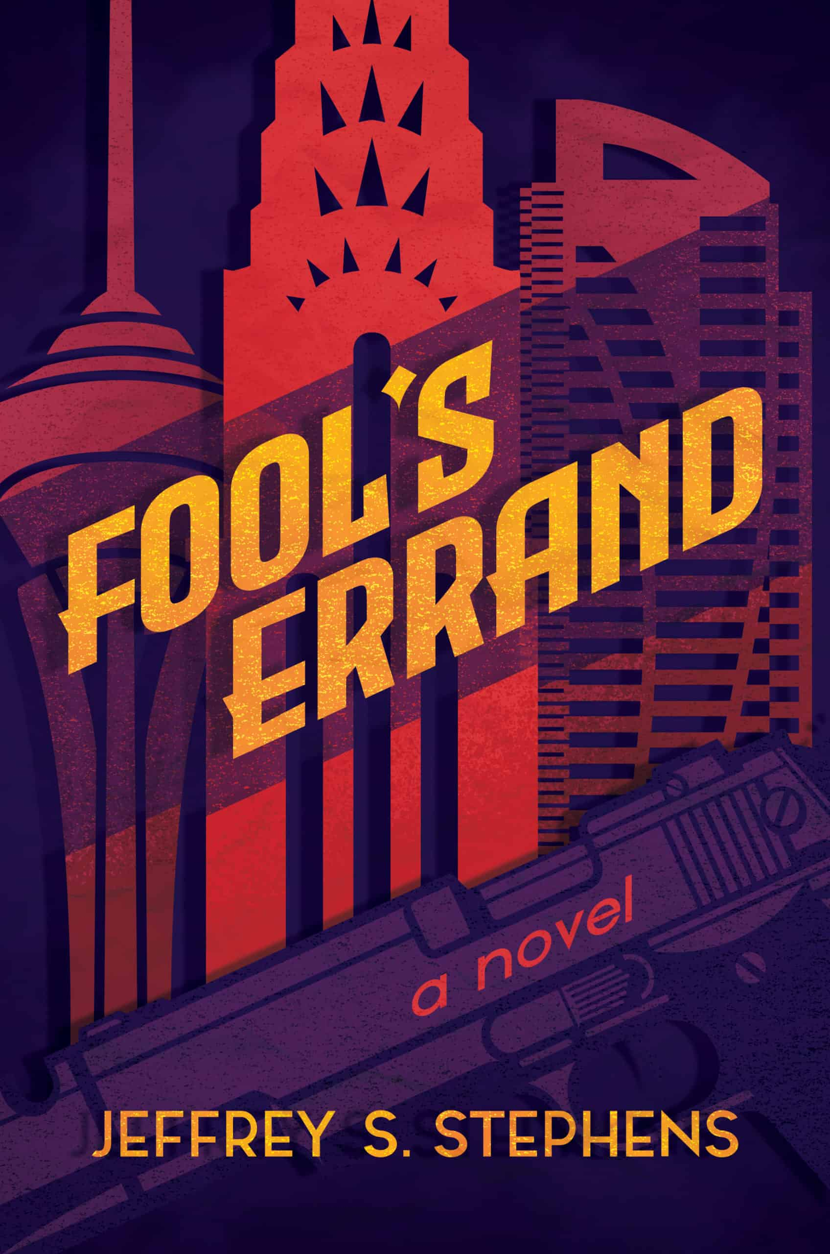 Jeffrey Stephens Fool's Errand BOOK COVER IMAGE